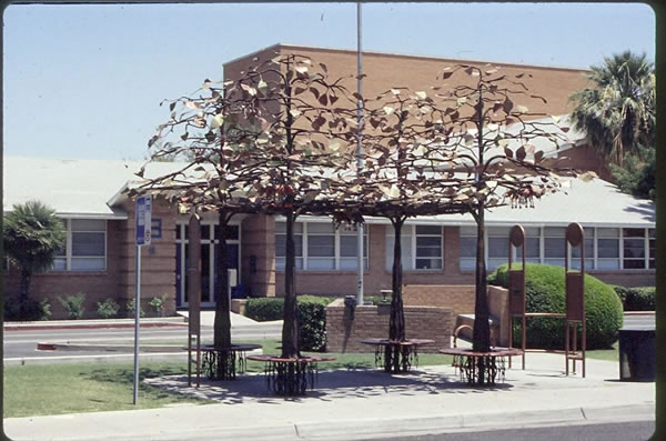 Bus Shelters Shade Structures Artist Joe Tyler